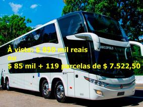 Ônibus Dd 1800 G7 Scania K400 2017