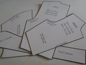 5f4535a9ac Kit Moldes Para Costura Saia Vestido Blusas Calça - Arte e ...