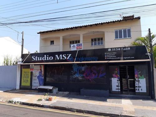 Salão Comercial + Casa Com 3 Dormitórios À Venda, 460 M² Por R$ 700.000 - Jardim Silvino - Paulista - Londrina/pr - Ca1655