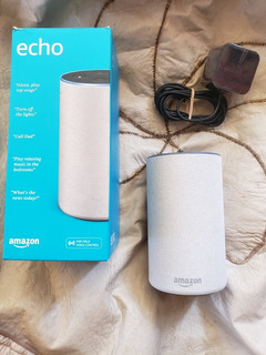 Amazon Echo 2da Generacion 2019 - Alexa - Assistente Virtual