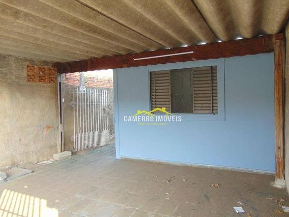 Casa Com 2 Dormitórios Para Alugar, Por R$ 900/mês - Loteamento Planalto Do Sol - Santa Bárbara D