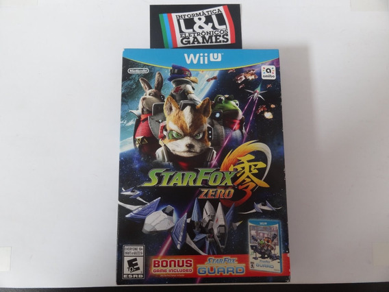 Star Fox Zero Wii U + Game Bonus Included Novo Lacrado