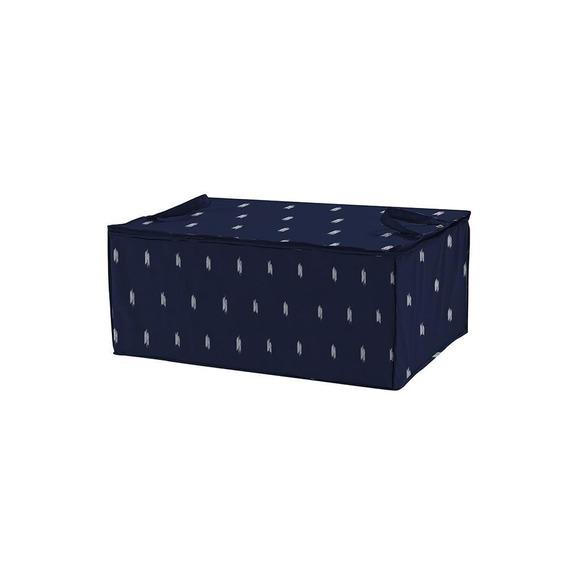 Organizador De Tecido 70x30x50cm Azul - A/casa