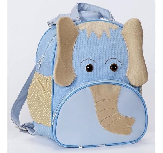 Mochila Escolar Infantil Elefante Mochila De Bebê Tamanho G