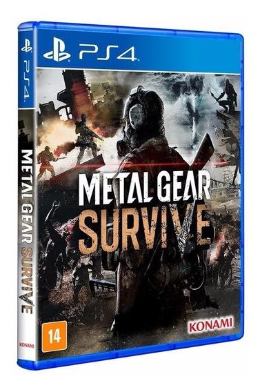 Metal Gear Survive - Jogo P/ Ps4 Original - Midia Fisica