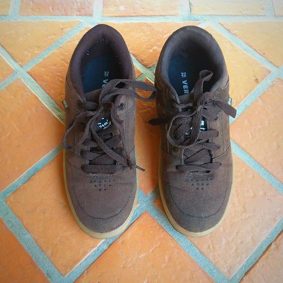 Sapato Tênis Em Camurça Infantil