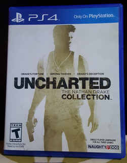 Uncharted Collection, Juego De Ps4 Impecable