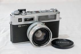 Câmera Fotográfica Analógica Yashica Electro 35 + Acessórios