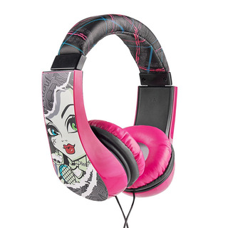 Sakar Kids Monster High Auriculares Supraaurales, Con Limita