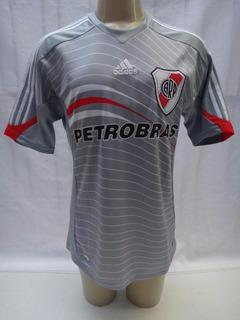 Camisa Futebol River Plate 2009 2010 Terceiro Uniforme Sc21