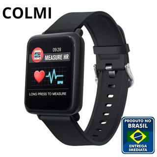 Colmi M28 Smartwatch Ip68 À Prova D´água Af Pressão Arterial