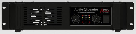 Amplificador Audio Leader Al S3000 Em 4 Ohms 3000 Watts