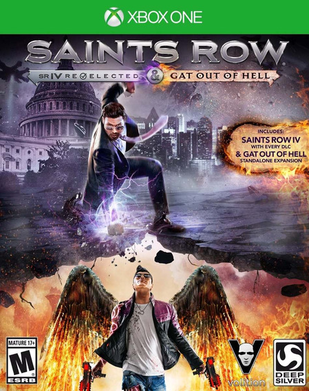 Jogo Novo Saints Row Iv Re-elected Gat Out Of Hell Xbox One