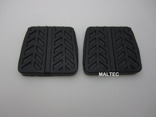 Jogo Capa Borracha Pedal Freio Embreagem Mazda Mx3