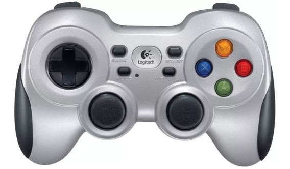 Controle Joystick Logitech F710 Pc Gamer Gamefly Sem Fio !!