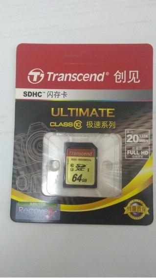 Cartão De Memória Sd Card 64gb