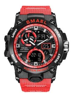 Relógio Masculino Modelo Militar Esportivo À Prova D
