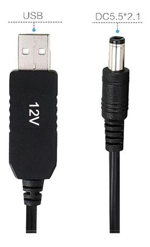Cable Conversor Usb De 5v A 12v