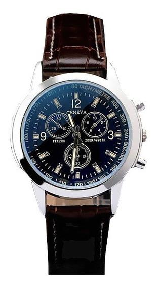 Relógio Combinação - Marca Geneva - Frete Grátis