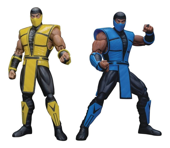 Boneco Scorpion + Sub-zero Mortal Kombat Storm Collectibles