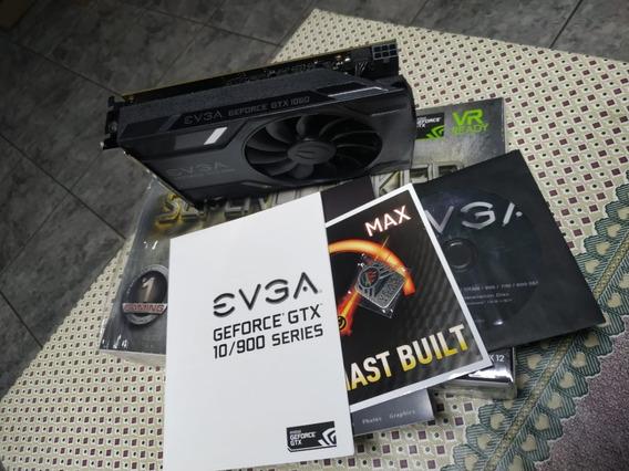 Gtx 1060 Evga Superclock Muito Novinha (com Caixa, Completa)