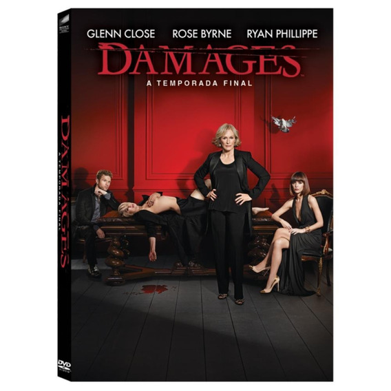 Seriado Damages Temporada Final Discos Dvd - Original