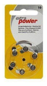 Bateria Extra Power 10 / Pr70 - Cartela Com 6 Unidades