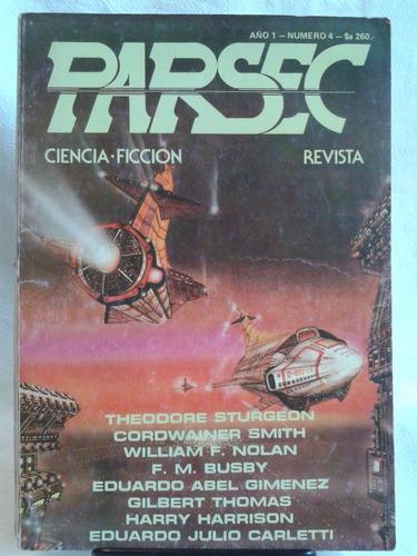 Imagen 1 de 5 de Revista Parsec Ciencia Ficcion Año 1 N1 Mayo 1984 Filofalsia