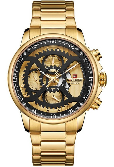Relógio Masculino Naviforce 9150 Esportivo Cronógrafo