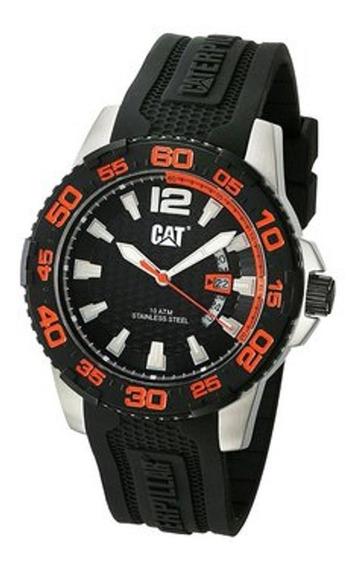 Reloj Análogo Marca Caterpillar Modelo: Pw14121128 Color Nar
