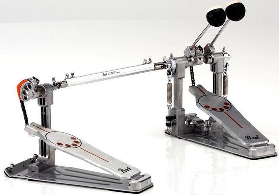 Pedal Duplo Pearl P932demonator Com Case
