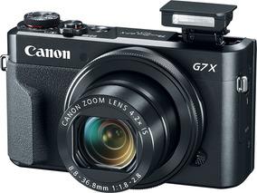 Câmera Canon Powershot G7x Mark Ii, 20.2mp, Wi-fi, Full Hd