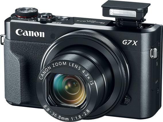Câmera Canon Powershot G7x Mark Il, 20.2mp, Wi-fi, Full Hd