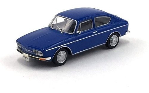 Imagem 1 de 4 de Miniatura Vw Tl 1972 Escala 1/43 Carros Inesqueciveis