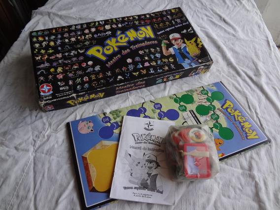 Jogo Pokemon Mestre Dos Treinadores Original Estrela Raro