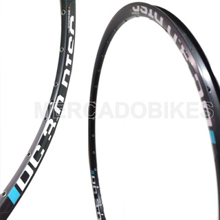 Llanta Maduxx Dc 3.0 - Doble Pared Aluminio Negro - Ojalillada - Rodado 29