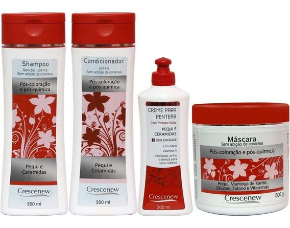 Pequi Para Cabelo - Shampoo, Condicionador, Creme E Máscara