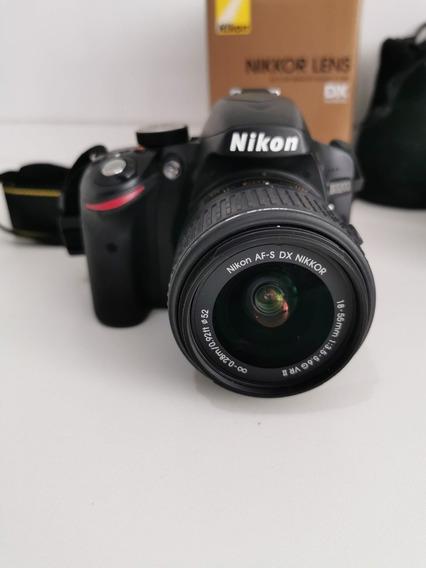 Nikon D3200 + Lente 35mm