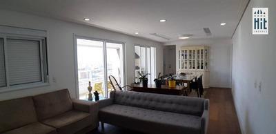 Apartamento Com 3 Dormitórios À Venda, 125 M² Por R$ 1.100.000 - Vila Gumercindo - São Paulo/sp - Ap2037