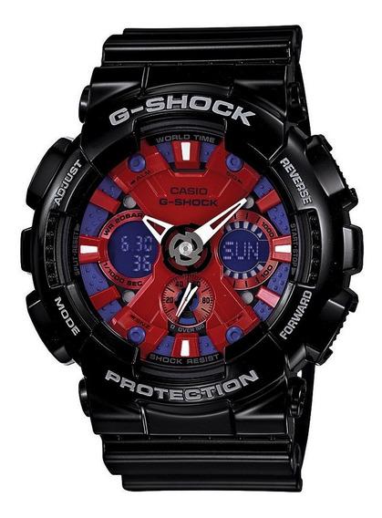 Relógio G-shock Masculino Ga-120b-1adr Preto