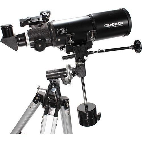 Telescópio Greika Bt40080eq Equatorial Refrator Com Tripé