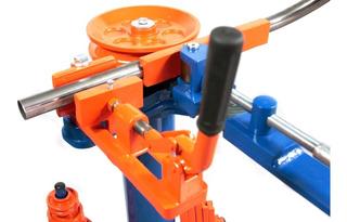 Máquina Manual De Curvar Dobrar Tubo E Metalon Quadrado Dt6
