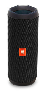 Jbl Flip 4 Negro Parlante Portátil Bluetooth Inalámbrico