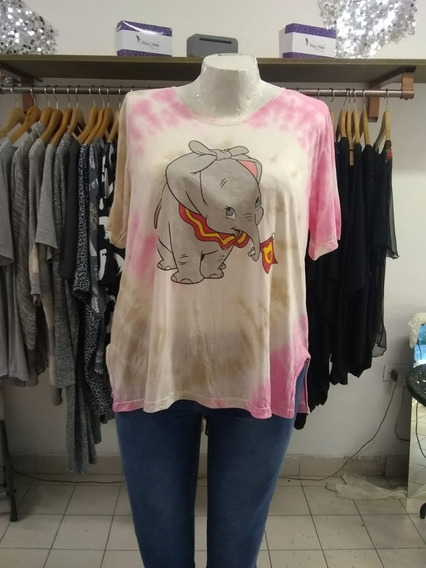Remera Talles Especiales Dumbo Art2065