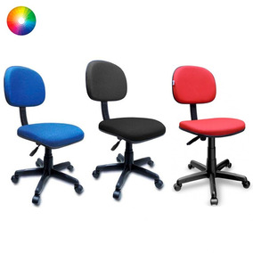 Cadeira Secretária Giratória P/ Escritório Recepção Jserrano