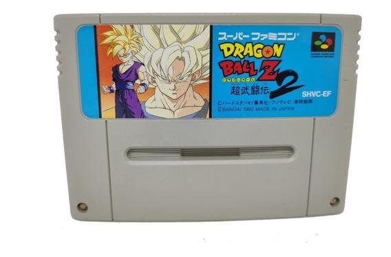 Cartucho Dragon Ball Z 2 Original Snes Super Nintendo