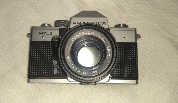 Camera Fotográfica Analógica Pentacon Pratika Mtl3