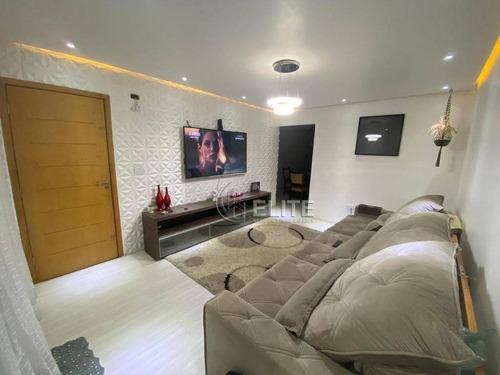 Cobertura Com 3 Dormitórios À Venda, 178 M² Por R$ 745.000,00 - Vila Bastos - Santo André/sp - Co1832