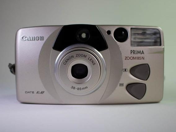Câmera Fotográfica Analógica Canon Prima Zoom 85n