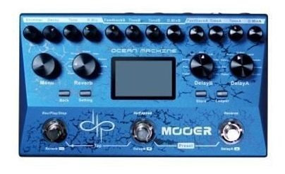 Pedaleira Reverb Delay & Looper Ocean Machine Tdl3 - Mooer